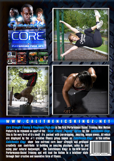 Calisthenics Kingz - Core Strength Training and Playground Push-Ups