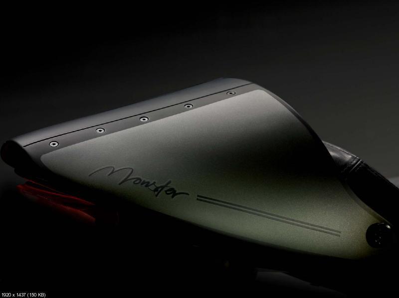 Нейкед Ducati Monster Diesel 2012