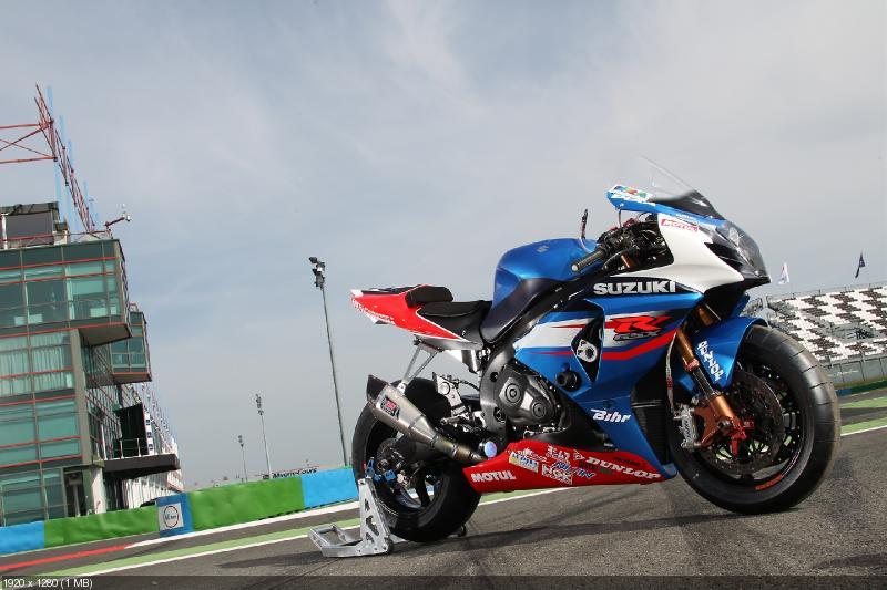 Гоночный мотоцикл Suzuki GSX-R1000 2012 команды SERT (фото)