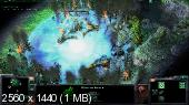 StarCraft II v1.4.3 + LAN Multiplayer v0.93 Lossless RePack R.G.Packers