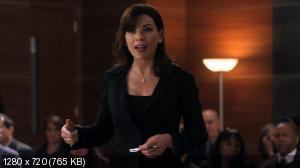 Хорошая жена [3 сезон] / Тhе Gооd Wifе (2011-2012) WEB-DL 720p + WEB-DLRip