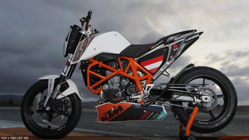 Мотоцикл KTM 690 Duke Track 2012