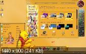 Windows7 Максимальная AUZsoft Yellow+miniWPI (64bit) (2012) Русский