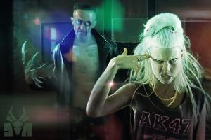 [2 �������] Die Antwoord - $O$ (2010); - Ten$ion (2012) [FLAC, tracks+.cue]