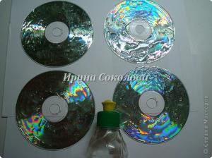 Креатив из СD дисков B861e2d2f2b40769819604532ec2b610