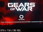 Gears of War (2006/RUS/JtagRIP/XBOX360)