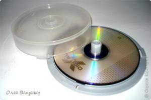 Креатив из СD дисков D73644a4ae17dfc6db5146d04e5ea193