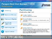 Paragon Hard Disk Manager 2010 Build 9369 Professional + CD-based on WinPE (BootCD)( Английский)